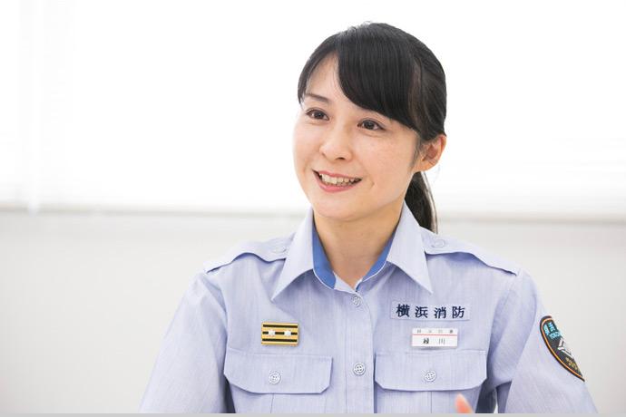 横浜市の消防女子! 「救助隊に女の配属先はない」と言われてから消防所長になるまでの17年